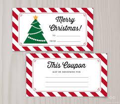 blank printable coupons blank christmas coupon book last