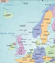 map of europe scandinavia map northern europe scandinavia major tourist attractions maps