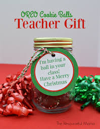 oreo cookie balls teacher gift the resourceful mama