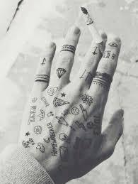25 trending diamond finger tattoo ideas on pinterest cute