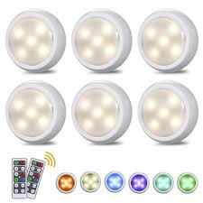 lights kitchen cabinets battery operated tomshine led puck lights with 2 remote wireless led cabinet lighting battery operated rgbw dimmable timing counter lights for
