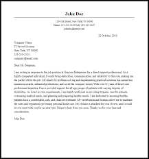 professional direct support professional cover letter sample