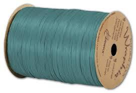 wraphia ribbon matte wraphia raffia teal ribbon 1 4 x 100 yds bags and bows