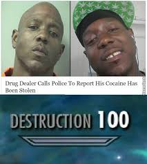 Crack Cocaine Meme - when police arrived at the scene they found out that cocaine and