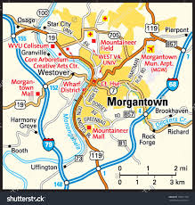 West Virginia Zip Code Map by Map Of Morgantown West Virginia Area Wire Free Printable Images