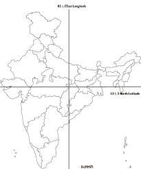 World Map With Longitude And Latitude Lines by Maps Gurudeva Com
