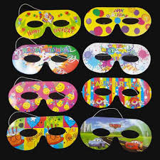 masks for kids kids party mask pk of 10 enaq s touch
