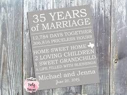 35 year wedding anniversary 35 wedding anniversary gift ideas 9 best anniversary images on