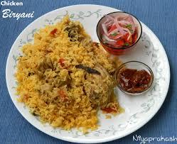 Biryani Decoration Niya U0027s World Chicken Biryani With Jeerakasala Jeerakasamba Rice