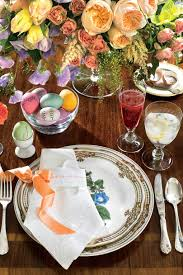 centerpieces with candy spring table settings and centerpieces southern living