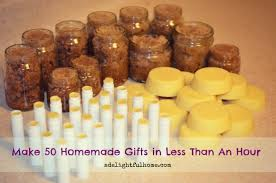 home made gifts how i made 50 homemade gifts in less than an hour and how you can