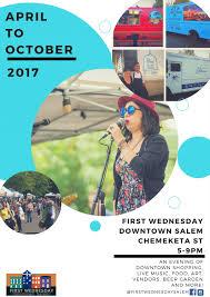 salem first wednesday u0026 street fair travel salem absolutely