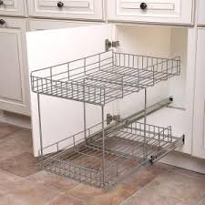 home depot kitchen cabinet organizers real solutions for real 17 in h x 15 in w x 22 in d