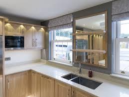 modern kitchen with aga potts
