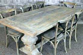 White Distressed Dining Room Table Tahrirdata Info Dining Room Ideas
