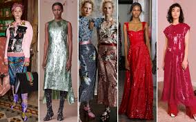 pre fall 2017 trends sequins