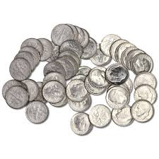 buy 10 value bags of 90 us silver coins bu jm bullion
