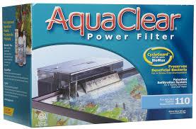 hagen aquaclear 110 power filter 1890l hr 227 to 416l aquatic