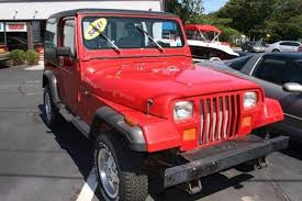 best price on jeep wrangler 1990 jeep wrangler for sale carsforsale com