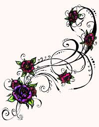 free tribal flower designs free clip free