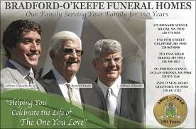 bradford o keefe funeral homes funeral services cemeteries
