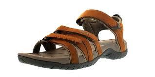 teva tirra leather women u0027s sandal brown rust shoes sandals