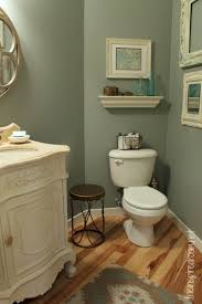 powder room take two 2nd budget makeover reveal empty frames
