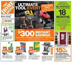 no home depot black friday ad home depot on flyer april 3 to 9