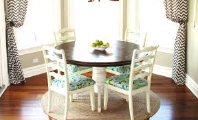 corner bench table love the light blue and white dining table