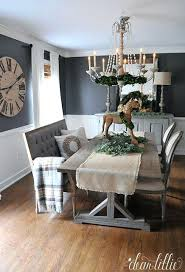 gray dining room table white and gray dining table dear fall house tour love the gray