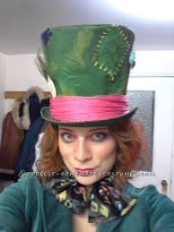 awesome diy female mad hatter costume female mad hatter mad