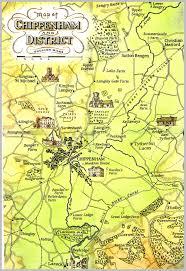 Wiltshire England Map by Bayliffe John Bayliffe
