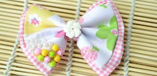 hair bows for fabric bow tie hair bows for tutorial