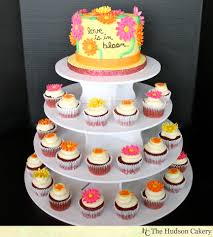 Kitchen Tea Cake Ideas Love In Bloom Cake Topper U0026 Cupcakes The Hudson Cakery