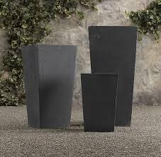 cast stone planters at restoration hardware large 19