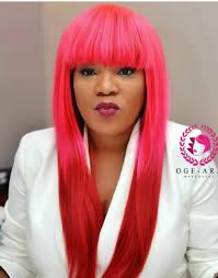 naigerian actresses hairstyles 10 nigerian female celebrities with coloured hair nigerian female
