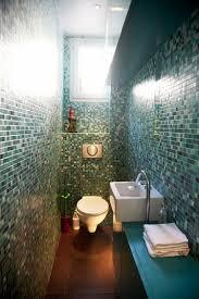 blue compact bathroom designs