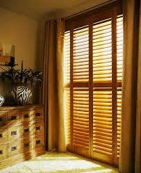 interior shutter doors cedar shutters on pinterest shutters