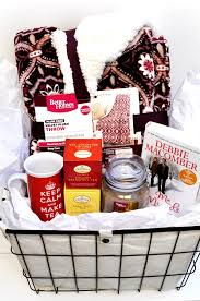 Themed Gift Basket Ideas How To Create A Winter Warm Up Gift Basket 6 Easy Holiday Gift