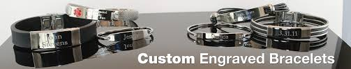 personalized engraved bracelets engraved bracelets id bracelets bracelets forallgifts
