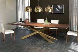 Brass Dining Table Spyder Wood Dining Table By Cattelan Italia Designer Italian Table
