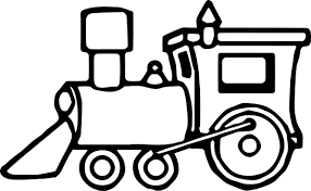 just train coloring page wecoloringpage