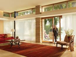 window treatment options for sliding glass doors interior blinds and shutters sliding patio door window treatment