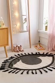 tasseled eye rug urban outfitters tassels and urban