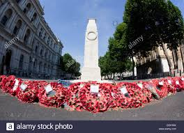 cenotaph with memorial wreaths uk stock photo 59995850 alamy