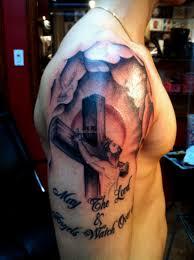 cool cross tattoo cool christian tattoos 3 best tattoos ever
