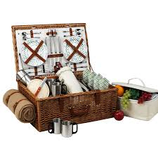 coffee baskets at ascot dorset style willow picnic basket with service