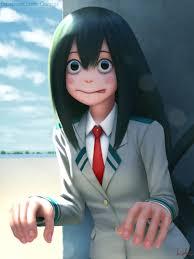 super realistic frog waifu my hero academia know your meme