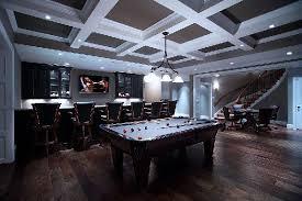 contemporary game room design home design and home interior