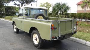 land rover pickup for sale land rover santana land rover santana military series iia 88
